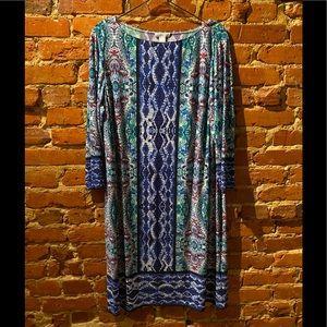 NWT London Times Midi Dress 2x